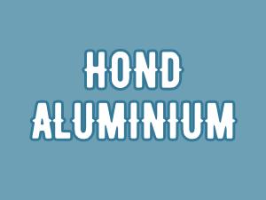 Hond | Aluminium