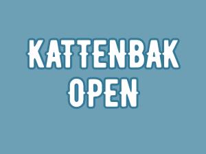 Kattenbak open