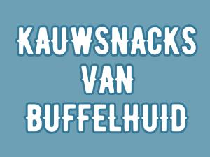 Kauwsnacks van Buffelhuid