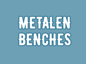 Metalen benches
