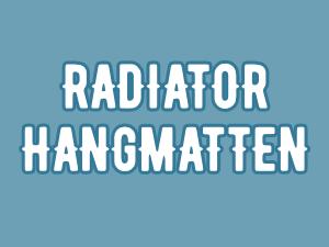 Radiatorhangmatten