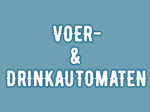 Voer- en drinkautomaten